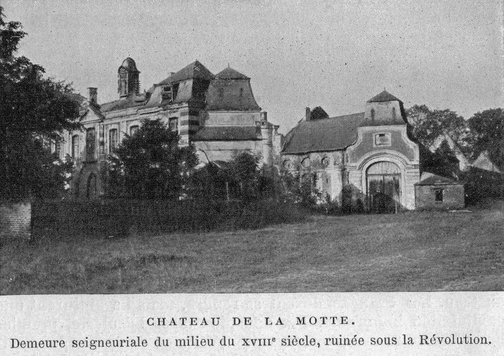 Ancien Château de la Motte à Bousval