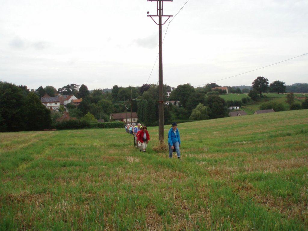 Le hameau de Sclage vu depuis le sentier n° 62
