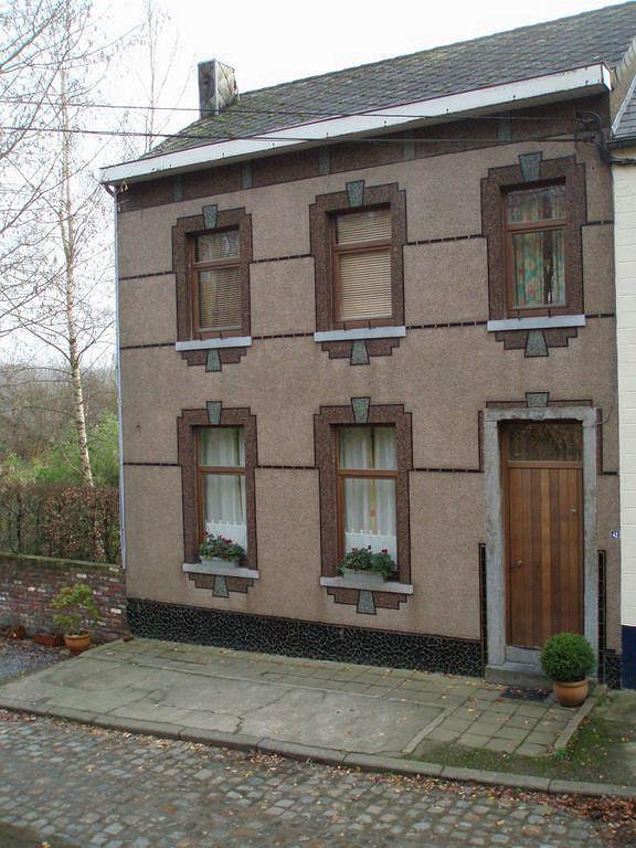 Maison parée de cimorné et de marbrite à la Rue Haute à Bousval