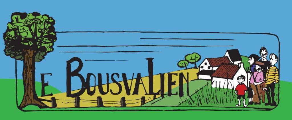 """Logo du journal """"Le Bousvalien"""""""